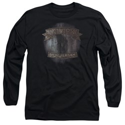 Bon Jovi - Mens New Jersey Long Sleeve T-Shirt