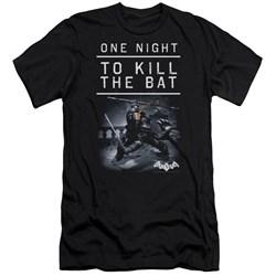 Batman Arkham Origins - Mens One Night Premium Slim Fit T-Shirt