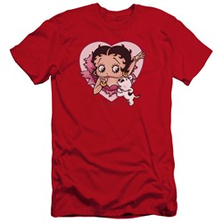 Betty Boop - Mens I Love Betty Premium Slim Fit T-Shirt
