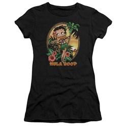 Betty Boop - Juniors Hula Boop Ii Premium Bella T-Shirt