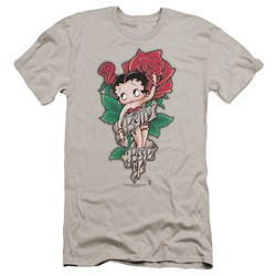 Betty Boop - Mens Tattoo Premium Slim Fit T-Shirt