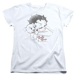 Betty Boop - Womens Vintage Wink T-Shirt
