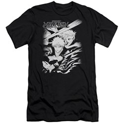 Bleach - Mens Swords Slim Fit T-Shirt