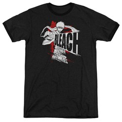 Bleach - Mens Sword Drawn Ringer T-Shirt