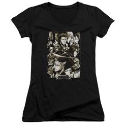 Bleach - Juniors Slice V-Neck T-Shirt