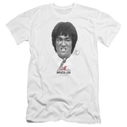 Bruce Lee - Mens Self Help Premium Slim Fit T-Shirt