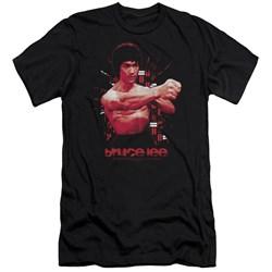 Bruce Lee - Mens The Shattering Fist Premium Slim Fit T-Shirt