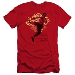Bruce Lee - Mens Immortal Dragon Premium Slim Fit T-Shirt