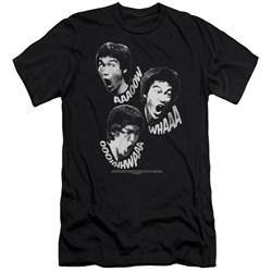 Bruce Lee - Mens Sounds Of The Dragon Premium Slim Fit T-Shirt