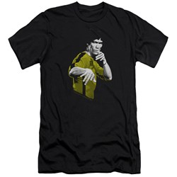 Bruce Lee - Mens Suit Of Death Premium Slim Fit T-Shirt