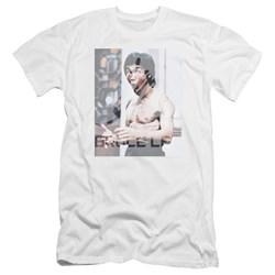Bruce Lee - Mens Revving Up Premium Slim Fit T-Shirt