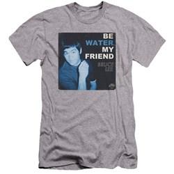 Bruce Lee - Mens Water Premium Slim Fit T-Shirt