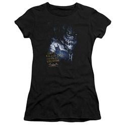Batman Aa - Juniors Arkham Killer Croc Premium Bella T-Shirt