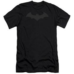 Batman - Mens Hush Logo Premium Slim Fit T-Shirt
