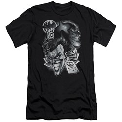 Batman - Mens Archenemies Premium Slim Fit T-Shirt