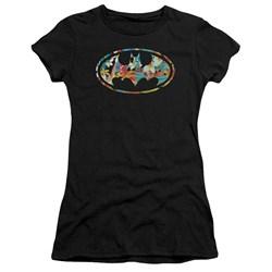 Batman - Juniors Hawaiian Bat Premium Bella T-Shirt