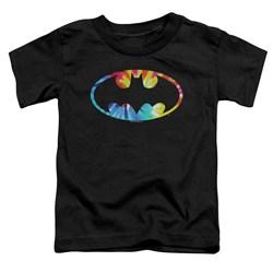 Batman - Toddlers Tie Dye Batman Logo T-Shirt