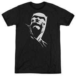 Batman - Mens Dkr Head Ringer T-Shirt