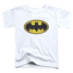 Batman - Toddlers Airbrush Bat Symbol T-Shirt