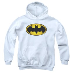 Batman - Youth Airbrush Bat Symbol Pullover Hoodie