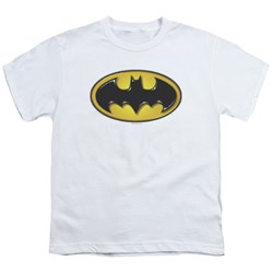 Batman - Youth Airbrush Bat Symbol T-Shirt