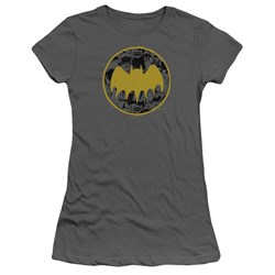 Batman - Juniors Vintage Symbol Collage T-Shirt