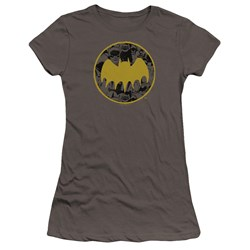 Batman - Juniors Vintage Symbol Collage Premium Bella T-Shirt