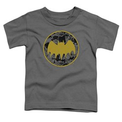 Batman - Toddlers Vintage Symbol Collage T-Shirt