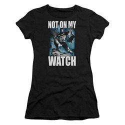 Batman - Juniors Not On My Watch T-Shirt