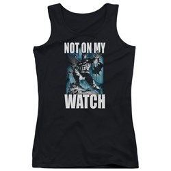 Batman - Juniors Not On My Watch Tank Top