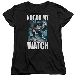 Batman - Womens Not On My Watch T-Shirt