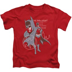 Batman - Youth Lean And Muscular T-Shirt