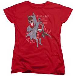 Batman - Womens Lean And Muscular T-Shirt