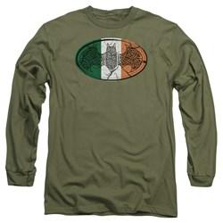 Batman - Mens Irish Celtic Symbol Long Sleeve T-Shirt