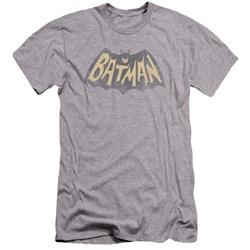 Batman Classic Tv - Mens Show Logo Premium Slim Fit T-Shirt