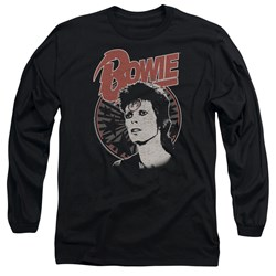David Bowie - Mens Space Oddity Long Sleeve T-Shirt