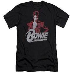David Bowie - Mens Diamond David Slim Fit T-Shirt