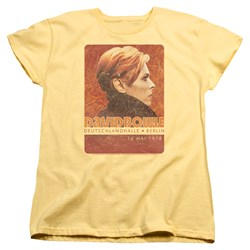 David Bowie - Womens Stage Tour Berlin 78 T-Shirt