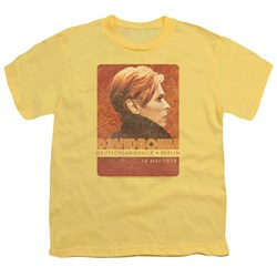 David Bowie - Youth Stage Tour Berlin 78 T-Shirt