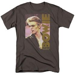 David Bowie - Mens Smokin T-Shirt