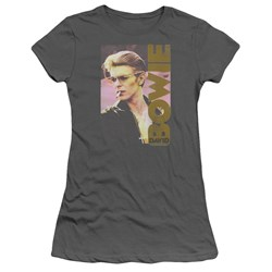David Bowie - Juniors Smokin T-Shirt