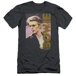 David Bowie - Mens Smokin Slim Fit T-Shirt