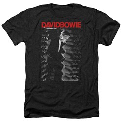 David Bowie - Mens Station To Station Heather T-Shirt