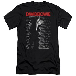 David Bowie - Mens Station To Station Premium Slim Fit T-Shirt