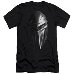 Bsg - Mens Cylon Head Premium Slim Fit T-Shirt