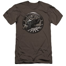Bsg - Mens Raptor Squadron Premium Slim Fit T-Shirt