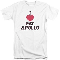 Bsg - Mens I Heart Fat Apollo Tall T-Shirt