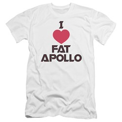 Bsg - Mens I Heart Fat Apollo Premium Slim Fit T-Shirt