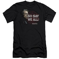Bsg - Mens So Say We All Premium Slim Fit T-Shirt