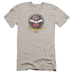 Bsg - Mens Vampires Badge Premium Slim Fit T-Shirt